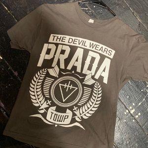 Devil wears PRADA baby tshirt med